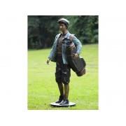 Statuie de bronz clasica Golf player