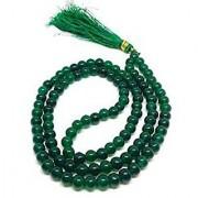 Natural mala beads agate stone unheated & original mala hakik mala by Jaipur Gemstone