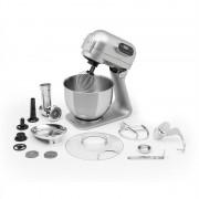 Klarstein Curve Plus, konyhai robotgép, 5 l, 4 az 1-ben húsdaráló tartozék, ezüst (PL-Curve-S2537)