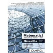 Matematica probleme si exercitii teste clasa a IX-a semestrul II. Profil tehnic