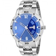 The Shopoholic Analogue Blue Day Date Dial Men Watches-(EG-M-115)