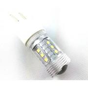 Ampoule HPS LED T20 - 3157/7443 W21/5W - Blanche pour Antibrouillard...