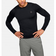Under Armour Men's UA RUSH™ HeatGear® Compression Long Sleeve Black LG