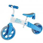 Tricicleta si bicicleta fara pedale Ybike Yvelo Flippa 2in1 blue