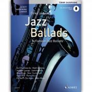 Schott Music Jazz Ballads - Tenor-Sax Juchem, Buch/CD