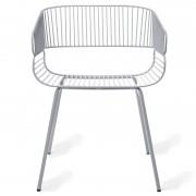Petite Friture Trame Chair stoel grijs