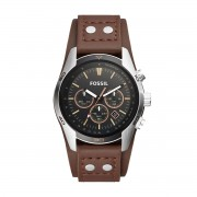 Часовник FOSSIL - Coachman CH2891 Dark Brown/Silver/Steel