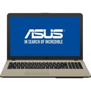 "Laptop Asus VivoBook X540UB-DM717 (Procesor Intel® Core™ i3-7020U (3M Cache, up to 2.30 GHz), Kaby Lake, 15.6"" FHD, 4GB, 1TB HDD @5400RPM, nVidia GeForce MX110 @2GB, Endless OS, Negru)"