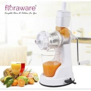 Floraware Plastic Fruit and Vegetable Juicer+Chilli Nut Cutter+Apple Cutter Slicer and Cheese Grater +6 IN 1 SLICER