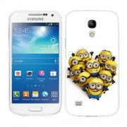Husa Samsung Galaxy S4 Mini i9190 i9195 Silicon Gel Tpu Model Minions Heart Shape
