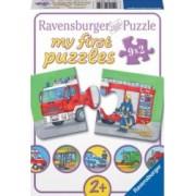 PUZZLE VEHICULE MOTORIZATE 9x2 PIESE Ravensburger