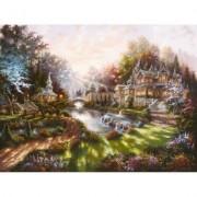 Puzzle revarsatul zorilor, 1000 piese Ravensburger