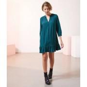 Etam Robe fluide boutonnée - NATALIA - 38 - Vert - Femme - Etam