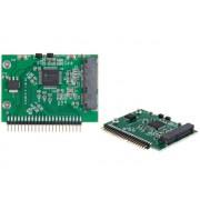 """NTR ADAP67 IDE 2,5"""" notebook méret -> mSATA 1,8"""" átalakító SSD-hez régi IDE notebookokba"""