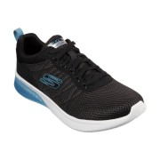 Skechers Skech-Air Ultra Flex-Orburn Lace-Up Jogger Trainer with Translucent Heel - Black - Size: 9