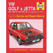 Haynes Workshop manual VW Golf & Jetta Mk 2 Essence (1984-Fév 1992) 1081
