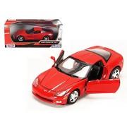 Motormax 2005 Corvette C6 Red 73270