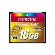 16GB CompactFlash, Transcend, 1000x, скорост на четене 160 MB/s, скорост на запис 120 MB/s