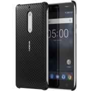 Protectie Spate Nokia Carbon Fibre Design CC-803 pentru Nokia 5 (Negru)