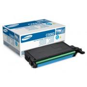 Samsung Tóner Original SAMSUNG CLT-C5082S Cian 2000 páginas compatible con CLP-620/CLP-670/CLX-6220/CLX-6250