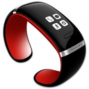 Smart Watch/Armband met Oled touch scherm Zwart/Rood