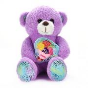 Lazada Teddy Bear Toy Plush Stuffed Animal Bears Dolls Best Kids Girls Gifts Desktop Decoration Flower 7.5 inches