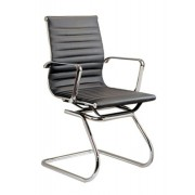 Replica Ray & Charles Eames Boardroom Chair - black or white italian leather (cf)