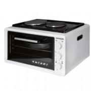 Готварска печка Concepta EO3620, 36 л. обем на фурната, 2 нагревателни зони, електрическа, бялa