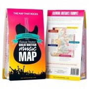Ordnance Survey British Great British Music Map Carta escursionistica