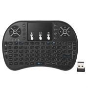 2.4Ghz Draadloze Mini Toetsenbord met Touchpad - Zwart