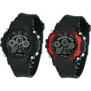 Crude Smart Combo Digital Watch-rg531 With Adjustable PU Strap - for Boy's Kid's