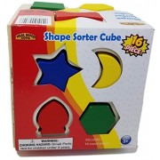 Lil FunTime 18 Piece Shape Sorting Cube Set
