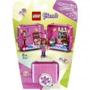 Конструктор Лего Френдс - Кубът за игра и пазаруване на Olivia, LEGO Friends, 41407