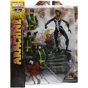 Diamond Select Toys Marvel Select Arachne Action Figure, Multi Color