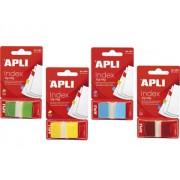 INDEX POP-UP APLI 25x45 mm, 50 file/set rosu Index plastic 45x25 mm Cu dispenser 1