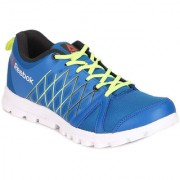 Reebok Mens Blue Yellow Sport Shoes