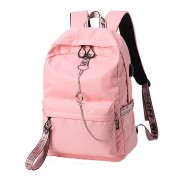 17 Inch Laptop Backpack Multifunction USB Bag Travel School Bags Polyester Camping Pack