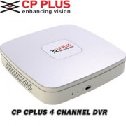 CP PlUS 4 Ch. 720P-Advanced HDCVI DVR CP-UVR-0401E1S