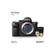 Câmera Sony Alpha A7R II Mirrorless (somente corpo), com Cartão de 32gb (C/10), Bolsa, Tripé de mesa e Kit Limpeza