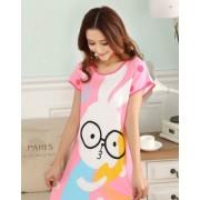 Pijama bumbac cu iepure