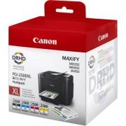 Toner Canon PGI-2500XL BK/C/M/Y Multi, MB5450/MB5155/MB5150/MB5350/MB5050/iB4150