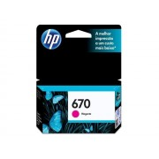 Cartucho HP 670 Magenta 4,0ml CZ115AB