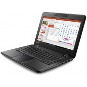 "Lenovo IdeaPad 100e Notebook Celeron Quad N3450 1.10Ghz 4GB 64GB 11.6"" WXGA HD HD500 BT Win 10 Home"