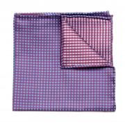 Férfi zsebkendő fékszárnyak Willsoor (minta 98) 5984 világos kék szín
