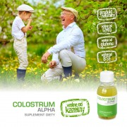 COLOSTRUM ALPHA - Colostrum Bovinum w płynie 125 ml