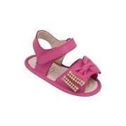 Sandália Casual Doce Bebê Pink menina
