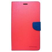 Husa tip carte Mercury Goospery Fancy Diary rosu + bleumarin pentru Samsung Galaxy Tab 3 8.0 (SM-T310, SM-T311, SM-T315)