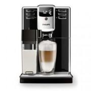 Aвтоматична кафемашина Philips Series 5000 EP5360/10, 5 напитки, Вградена кана за мляко, PianoBlack, AquaClean