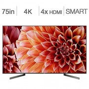 """Sony SmartTV 75"""" 4K Pantalla UHD Triluminos LED Full Array Android con X-tended Dynamic Range Pro/Google Assistant XBR-75X900F (Renewed)"""