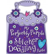 My Perfectly Purple Sticker and Doodling Purse, Paperback